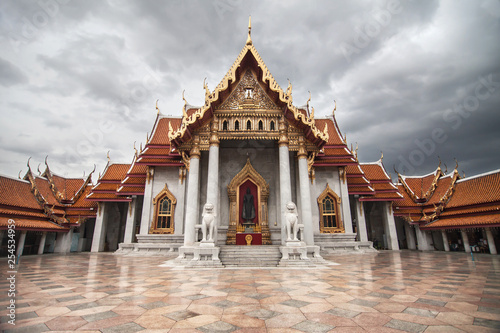 Fototapeten Bangkok The Marble Temple in Bangkok