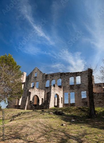 Old Abandoned Castle Ruins