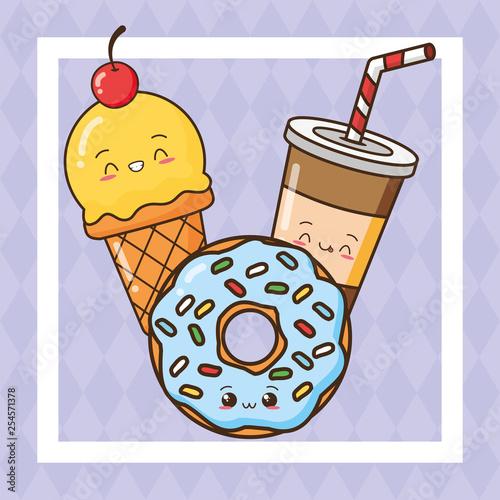 kawaii fast food