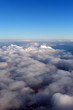clouds, top view from the plane - 254622903