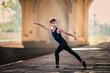 ballet boy exercising