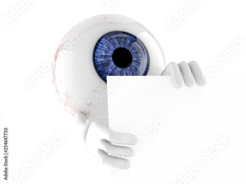 Eye ball character