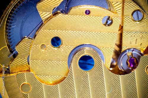 Detail of mechanical clockwork