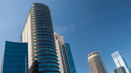 Glass Windows Of Skyscrapers