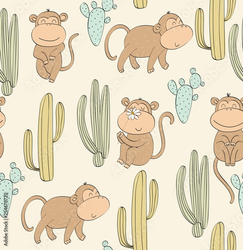 Vector seamless pattern - 254670720