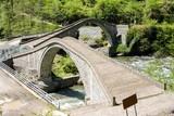 twin bridge in artvin province.arhavi turkey