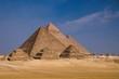Die großen Pyramiden von Gizeh