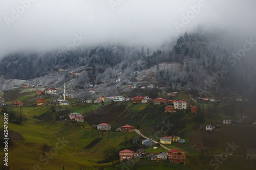 villages trabzon turkey  - 254706197
