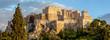 Akropolis Sonnenuntergang