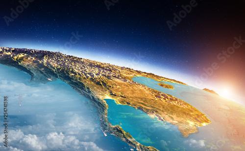 Leinwandbild Motiv South-east Asia sunrise