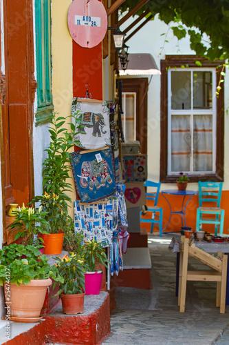 Vourliotes village, Samos, Greece © Elisabetta