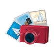 digital camera technology and art pictures