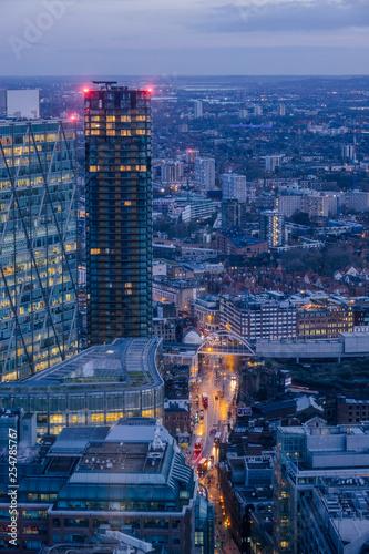 obraz lub plakat London Cityscape