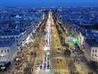 L'heure bleue aux Champs-Élysées