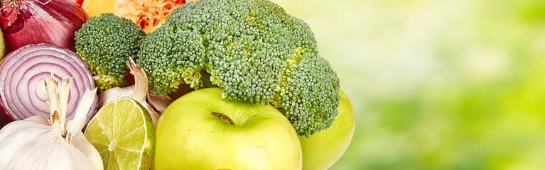 Vegetables food background. © Kurhan