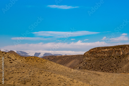 Mountain valley Landscape - 254832782