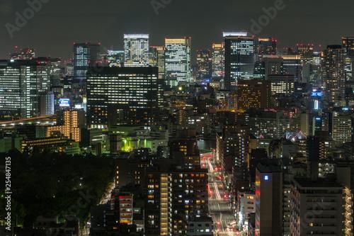 obraz PCV 東京の夜景
