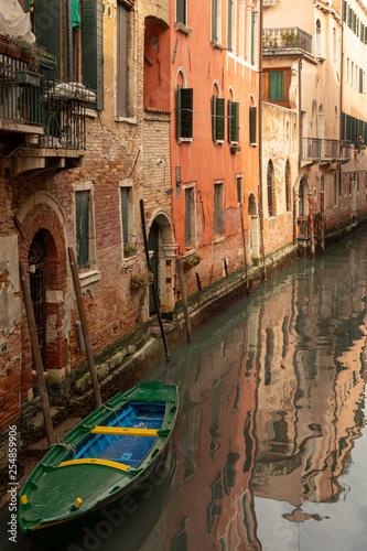 obraz PCV Wasserstrasse in Venedig