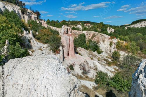 Rock Formation Stone Wedding near town of Kardzhali, Bulgaria - 254863317