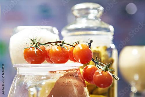 Branch of tomatoes © Sergey Ryzhov