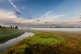 Fototapeta Fototapety na sufit - Pole w mgle © Robert