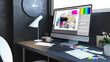 typesetting design workspace - 254883133