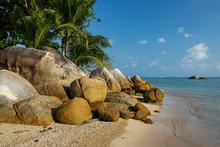 """Постер, картина, фотообои """"beautiful tropical beach Lamai, Koh Samui, Thailand"""""""