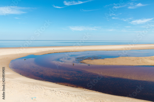 Foto Murales beach and sea