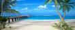 Leinwandbild Motiv Perfect beach