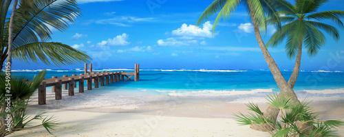 Perfect beach - 254961155