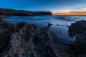 Paesaggio al tramonto di Sa mesa Longa a San vero Milis (Sardegna) © alex.pin