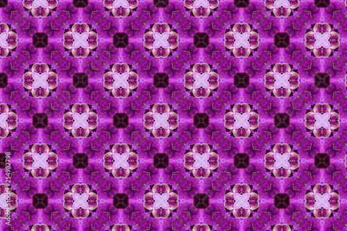 abstract kaleidoscopic background - Illustration - 254982798