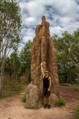 Termite Mound in Litchfield National Park, Northern Territory, Australia © Matin