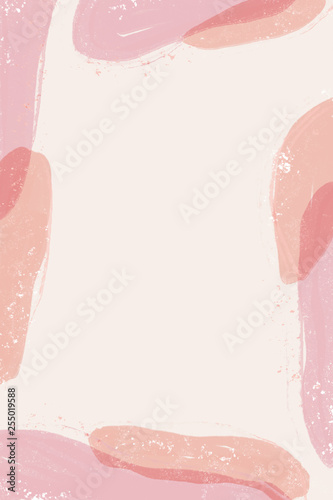Abstract pattern design with organic shapes. Colorful background design. - 255019588