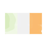 Watercolor flag of Ireland. Vector illustration design