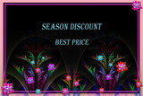 Concept of holiday discount,  Marketing, shopping, gift card. - 255067180