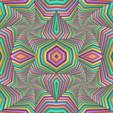 Multicolor Seamless abstract festive pastel pattern. Tiled ethnic pattern. Geometric mosaic. Great for tapestry, carpet, blanket, bedspread, fabric, ceramic tiles, stained glass window, wallpapers - 255074177