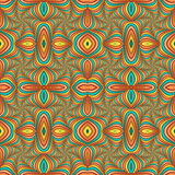 Multicolor Seamless abstract festive pastel pattern. Tiled ethnic pattern. Geometric mosaic. Great for tapestry, carpet, blanket, bedspread, fabric, ceramic tiles, stained glass window, wallpapers - 255077986