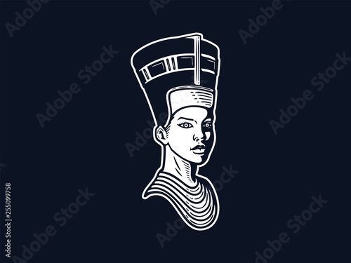 Nefertiti queen of ancient beauty