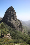 Roque de Agando auf La Gomera. Kanarische Inseln. Spanien