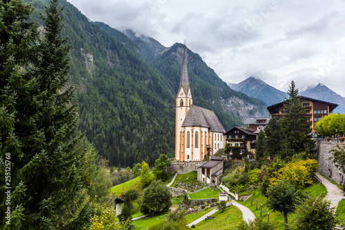 Village in the Austrian Alps