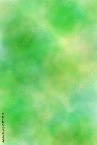 Colorful artistic green abstract background - 255132316