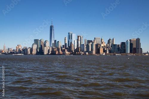 obraz PCV New York - Skyline von Manhattan