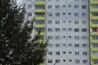 Leinwanddruck Bild - Wohnsiedlung