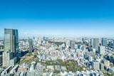 六本木から見る大都市東京