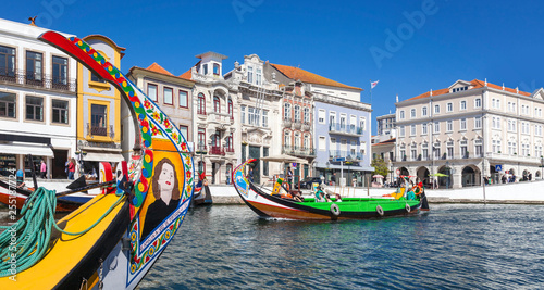 Leinwanddruck Bild Aveiro, Portugal
