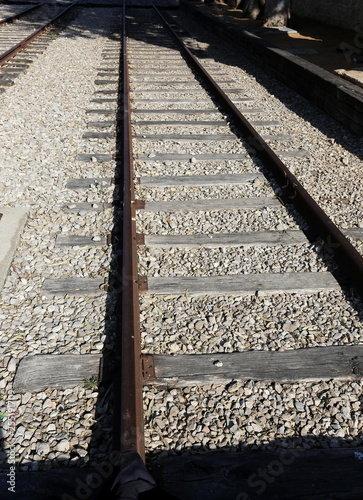 Israel railroad is a road with a rail track.