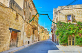Walk the streets of Siggiewi, Malta