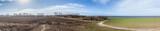 Panorama Küstenlandschaft an der Ostsee
