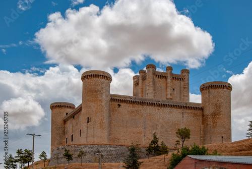 Castle at Torrelobaton, Valladolid